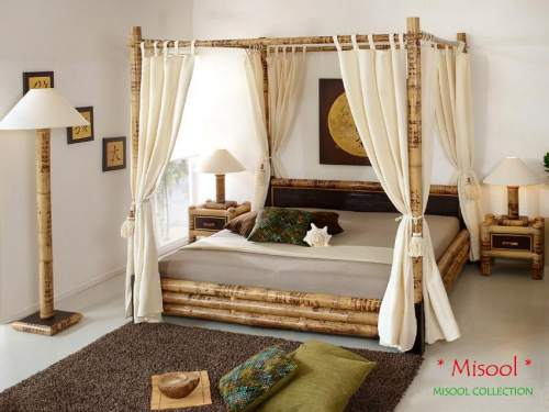Bambus-Möbel Schlafzimmer Kollektion Misool