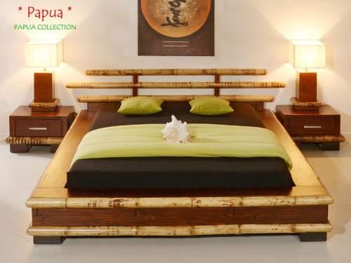 Bambus-Möbel Schlafzimmer Kollektion Papua