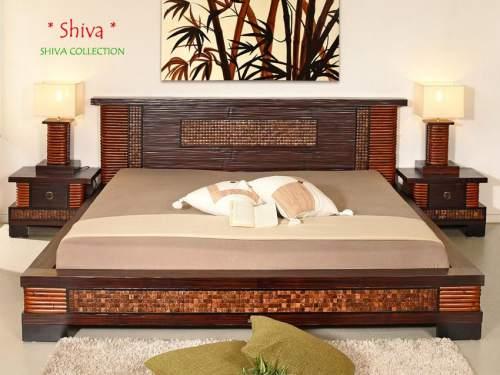 Bambus-Möbel Schlafzimmer Kollektion Shiva