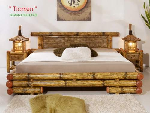 Bambus-Möbel Schlafzimmer Kollektion tioman