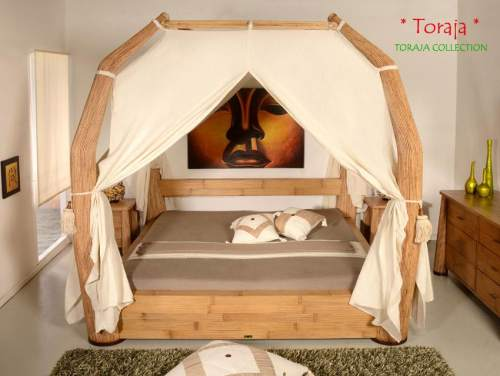 Bambus-Möbel Schlafzimmer Kollektion Toraja