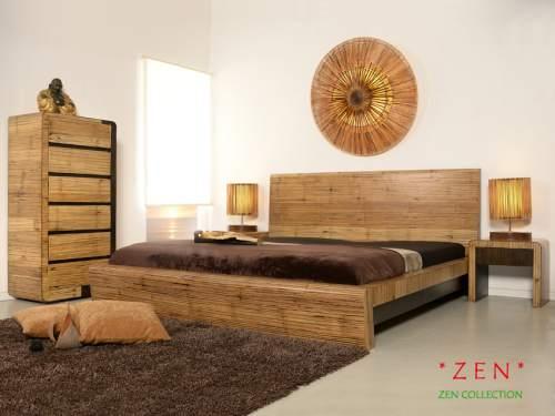 Bambus-Möbel Schlafzimmer Kollektion Zen